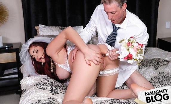 Reality Kings - Skyla Novea: The Cum Spattered Bride (2018/FULLHD) [OPENLOAD]