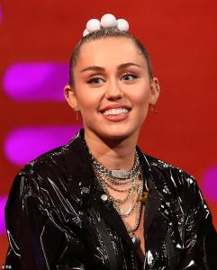 Miley Cyrus - Performing on The Graham Norton Show in London 12/6/18
