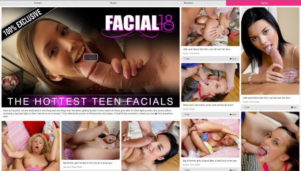 Facial18 (SiteRip) Image Cover