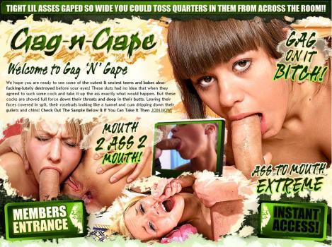 Gag-N-Gape (SiteRip) Image Cover